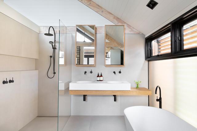Vautier St Elwood Home 2015 Scandinavian Bathroom Melbourne By Smarterbathrooms