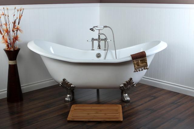 VCT7D7231NC8 Kingston Brass Clawfoot Bath Tub Contemporary Bathroom Lo
