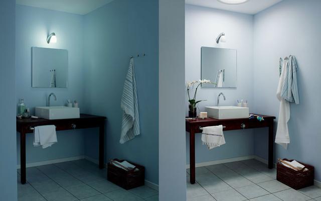 VELUX Sun Tunnels contemporary-bathroom