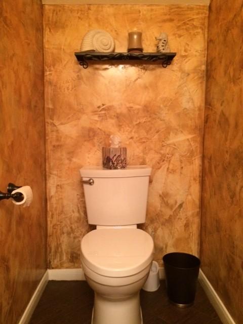 Venetian plaster bathroom for Venetian plaster bathroom ideas