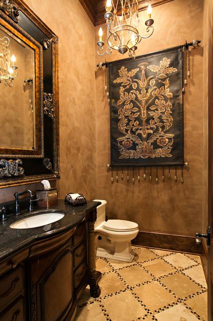 Venetian Plaster Mediterranean Bathroom Other Metro By Terry M