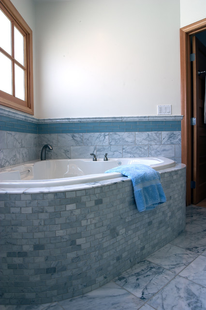 Venice Beach Bungalow - complete remodel and addition traditional bathroom