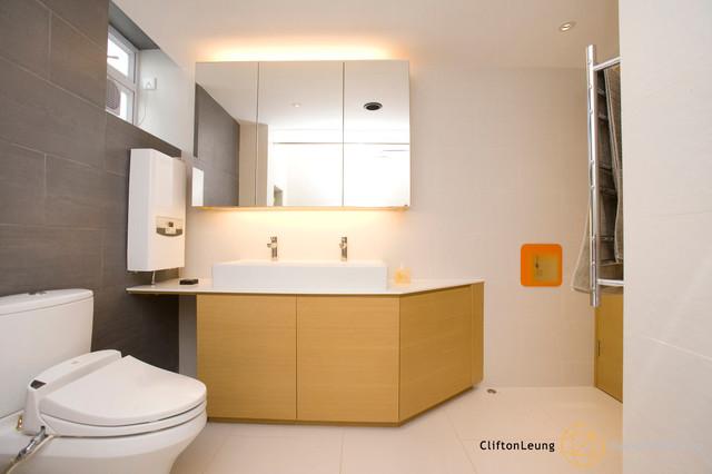 Ventris Place - Elegant Minimalism contemporary-bathroom