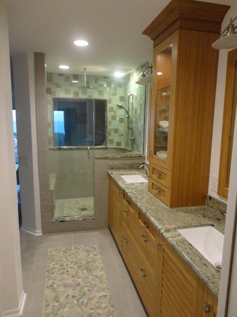 Ventura master beach master bathroom for Bath remodel ventura