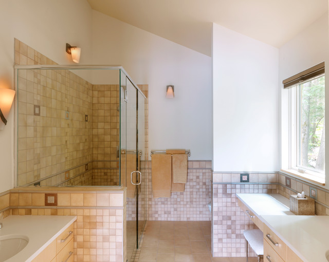 Contemporary Bathroom by Elizabeth Herrmann architecture + design