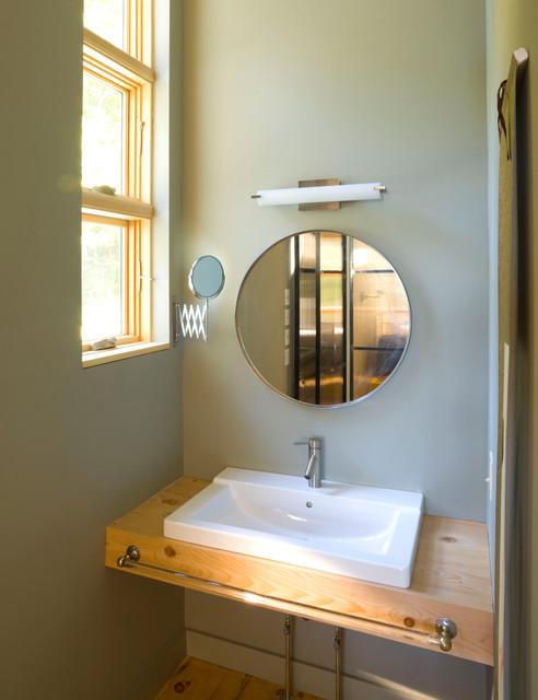 vermont lake house contemporary bathroom burlington by jean