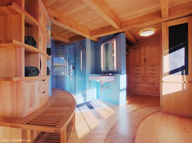 Vermont Organic Farm - Contemporary - Bathroom ...