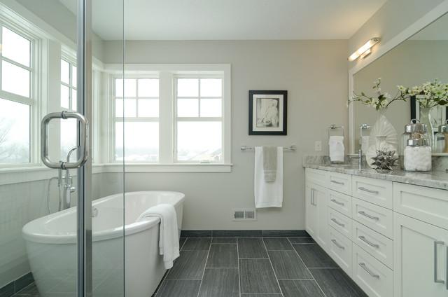 Vernacular Revival Farmhouse Bathroom