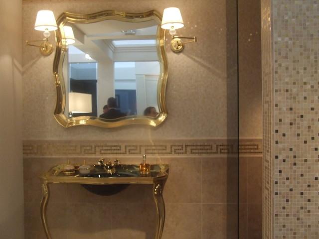 Versace Cerami Tiles By Lea Bassani : contemporary bathroom from www.houzz.com size 640 x 480 jpeg 63kB
