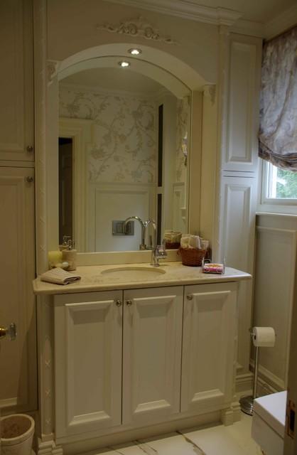 Versace Guest Bathroom Mediterranean Bathroom Boston