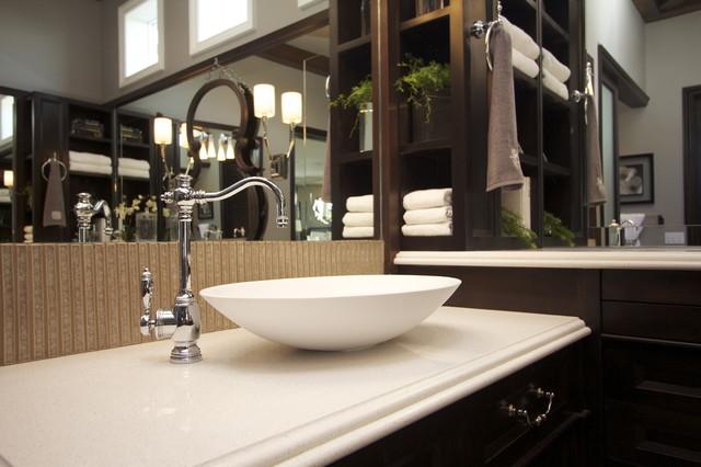 Vessel Sink Traditional Bathroom San Diego By
