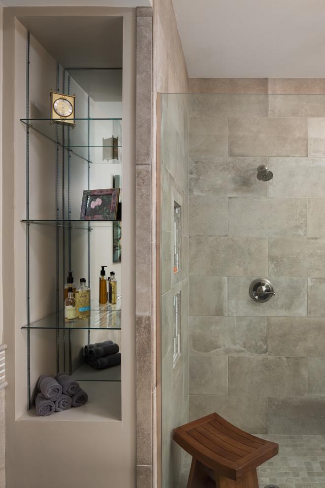 Vestavia Transitional Bathroom Remodel - Transitional ...