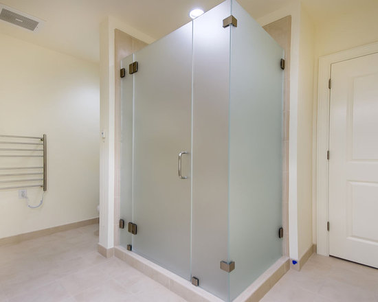 Frosted Glass Shower Doors Home Design Ideas Pictures