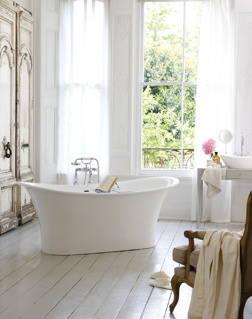 Victoria Albert Toulouse Freestanding Bathtub Traditional Bathroom