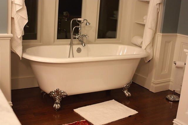 victoria and albert cheshire clawfoot tub traditional