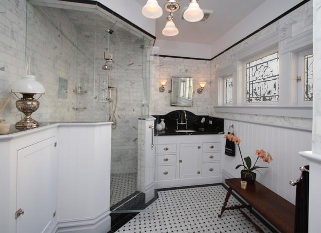 Victorian Bath - Victorian - Bathroom - San Francisco - by Joanne Cannell Designs
