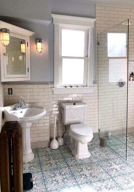 Victorian / Edwardian House Remodel, Seattle, WA - Victorian - Bathroom - Seattle - By Belltown Design | Houzz AU