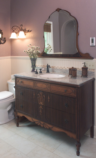 Victorian Farmhouse Bathroom traditional bathroom