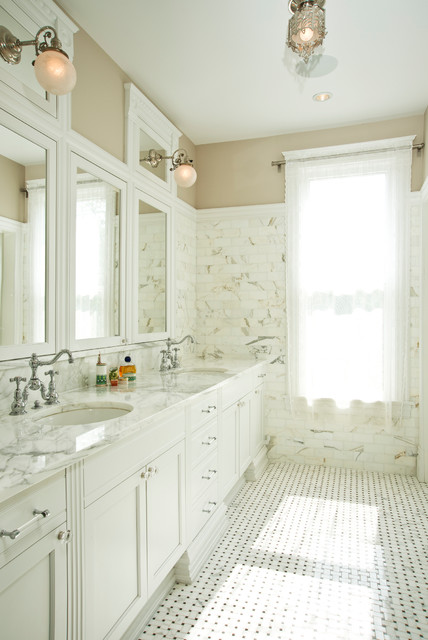 Remodeled Victorian Bathrooms victorian remodel - victorian - bathroom - chicago -stuart
