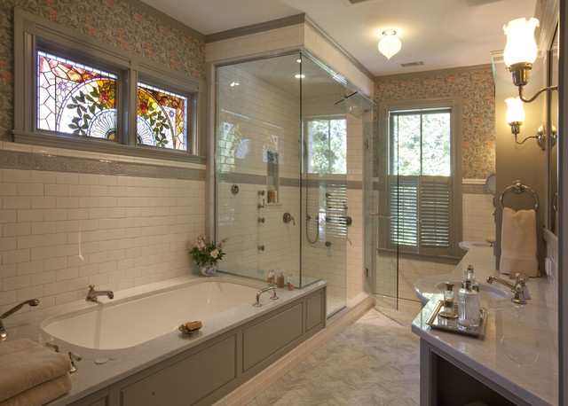 Victorian Splendor traditional bathroom