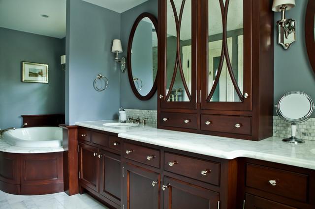 Victorian Summer Cottage Transitional Bathroom Providence By Taste Design Inc
