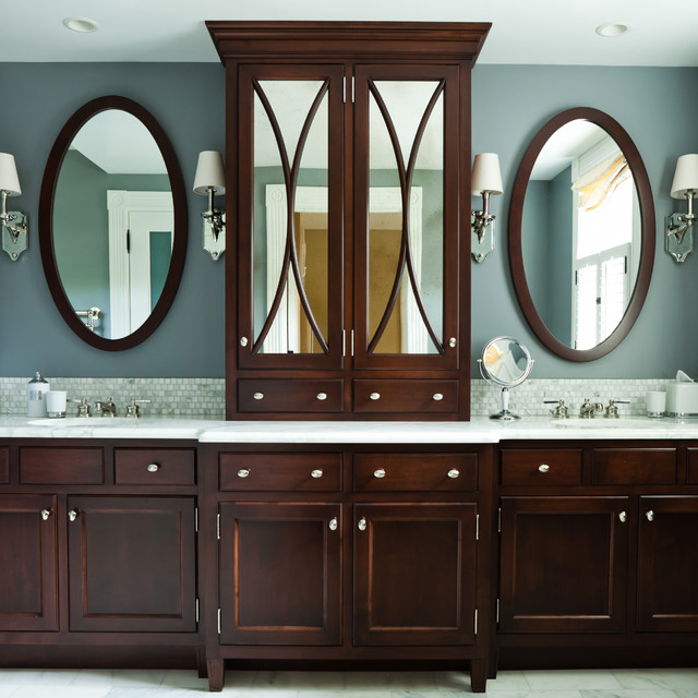 Jamestown Home contemporary bathroom