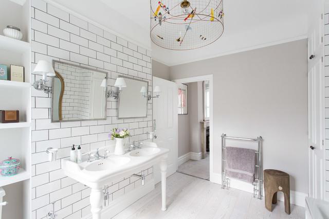 Victorian terraced house battersea for Victorian terrace bathroom ideas