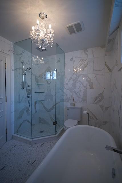 Victorian Twist  bathroom