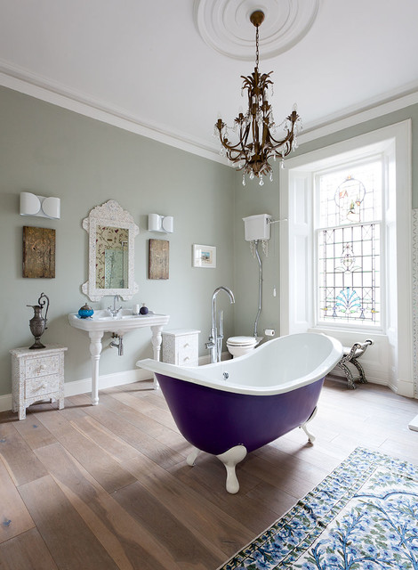 Villa Refurbishment Glasgow Victorian Bathroom By Cotterell Co