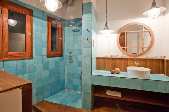 Caribbean Bathroom Design Ideas ~ Caribbean bathroom decor images beach inspired