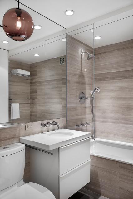 VILLAGE APARTMENT contemporary-bathroom