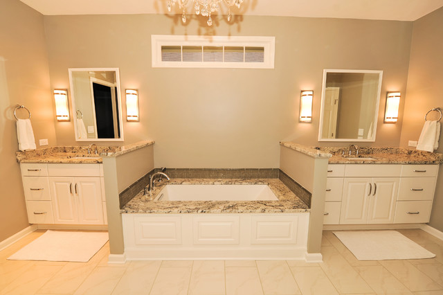 Village crest master bath contemporary bathroom for Bathroom design birmingham