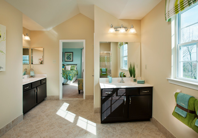 Villages at Country View by WB Homes transitional-bathroom