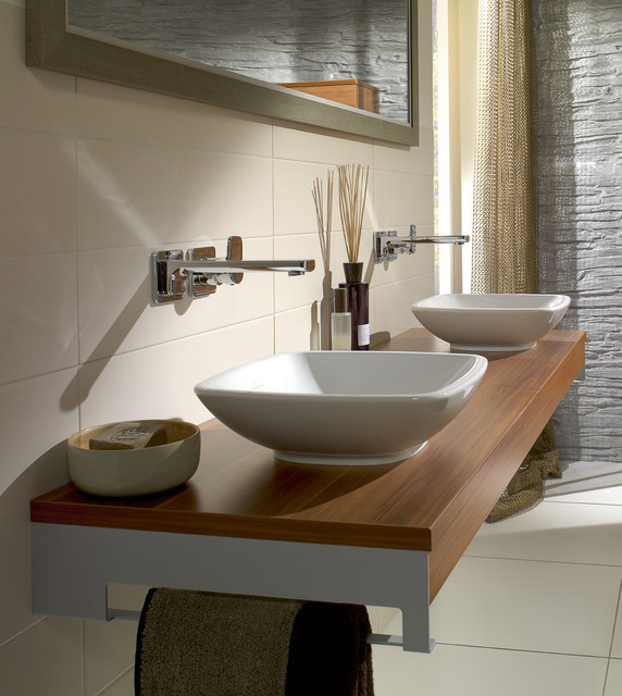 villeroy boch contemporary bathroom