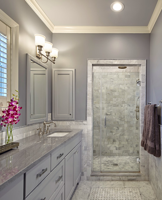Gray Bathroom Ideas Interior Design ~ Vine ave park ridge il traditional bathroom