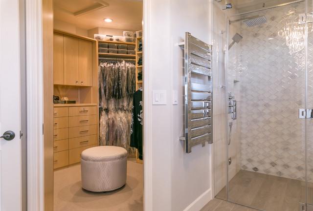Vineyard Home Master Bathroom transitional-bathroom