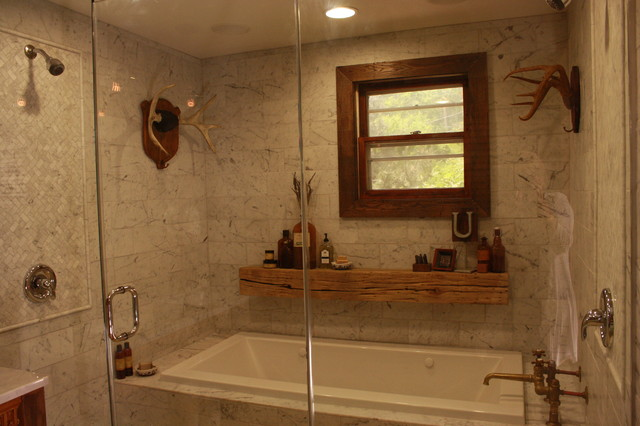 Vintage bath eclectic-bathroom