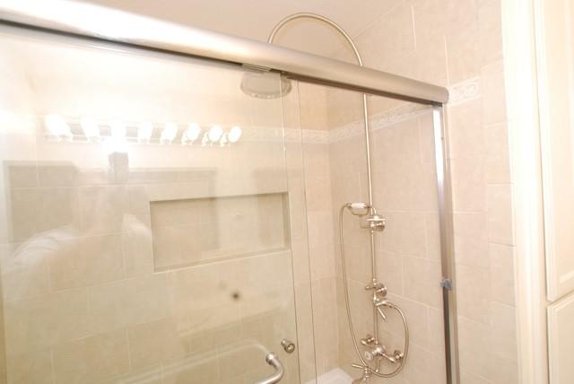 Vintage Bathroom Amp Shower Hand Held Amp Black Cabinets