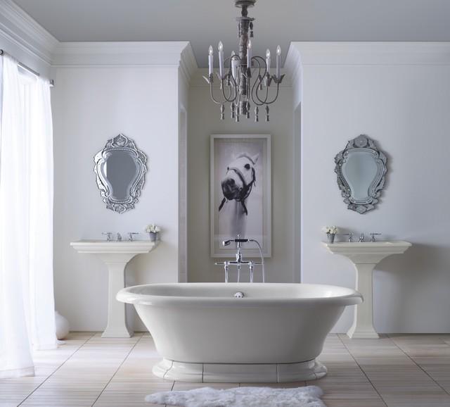 Vintage Bathroom traditional-bathroom