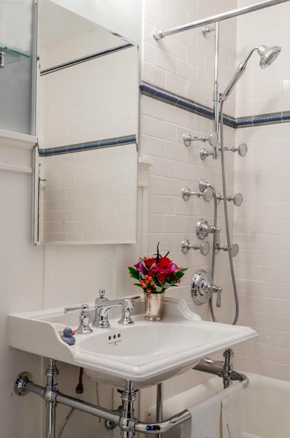 Vintage Bathroom Remodel - Industrial - Bathroom - chicago ...