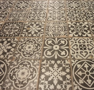 Vintage Decorative Tiles Sydney Mediterranean Bathroom Sydney By Kalafrana Ceramics