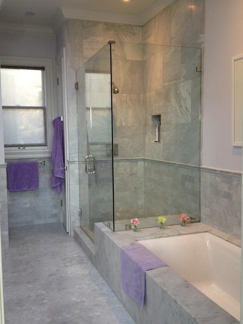 Vintage Edwardian Color - contemporary - bathroom - san francisco
