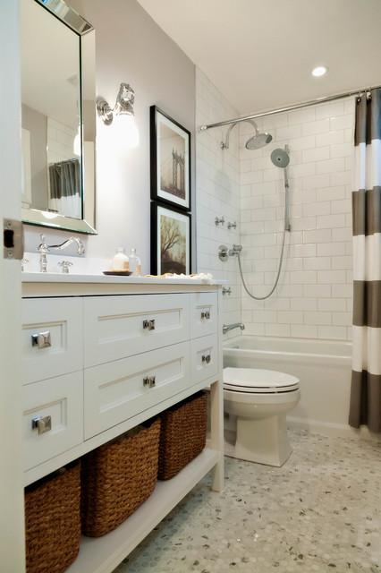 Vintage Inspired Bath