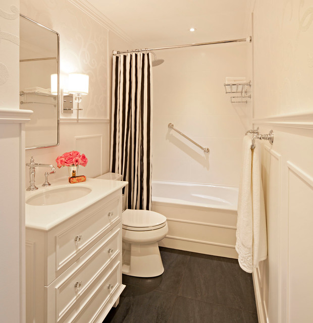 Houzz Com Bathroom: Vintage-inspired Bathroom