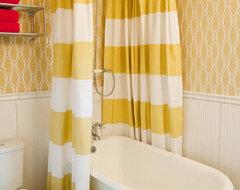 Vintage Mod Bathroom contemporary-bathroom