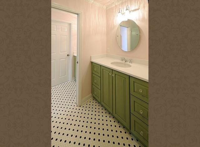 Vintage Modern Bathroom - Vintage modern bathroom