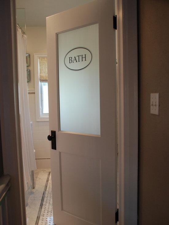 How to fix a leak through the bathroom floor bathroom for Leaked bathroom photos
