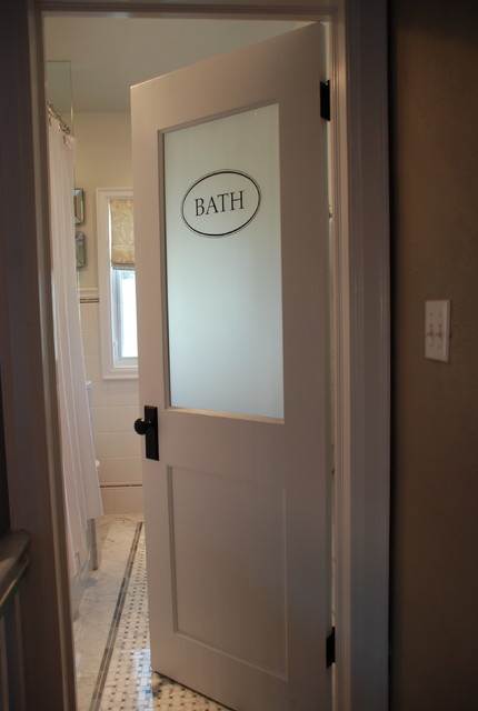 Vintage Modern Bathroom traditional bathroom