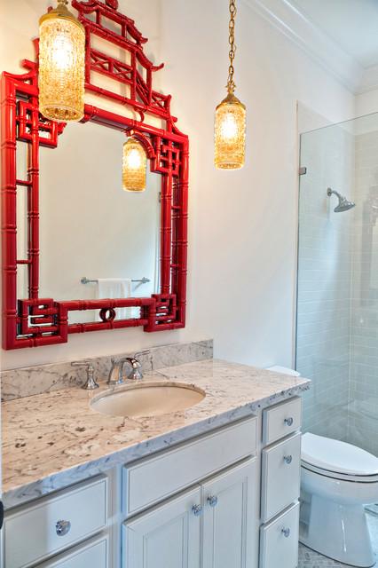 Vintage Palm Beach Eclectic Bathroom Other Metro By Joy R Dabill Interior Design