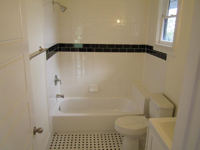 Vintage White Ceramic Bathroom San Diego By